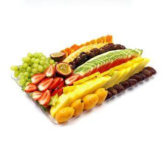 """מגש פירות עונתי - גדול 30x46 ס""""מ"""